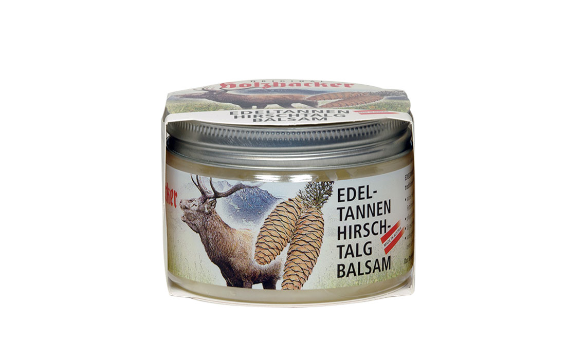 Silver fir and deer sebum balm Image