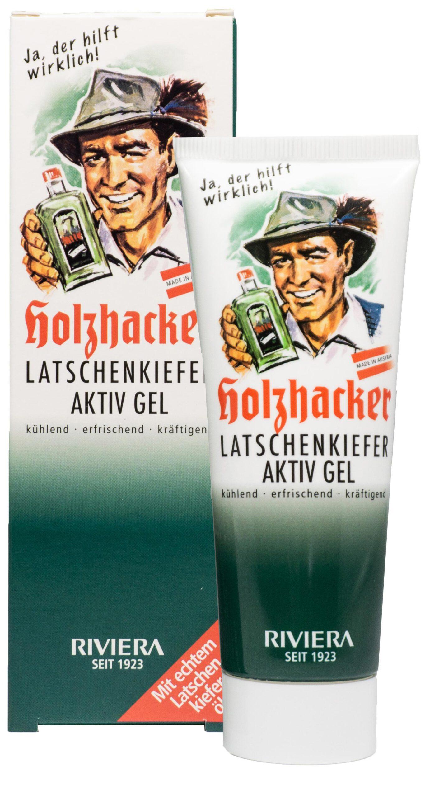 Holzhacker Latschenkiefer Aktiv Gel Image